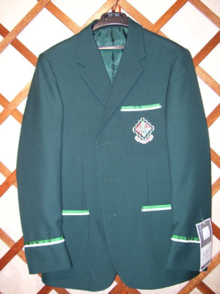 Blazer with 1/2 colours