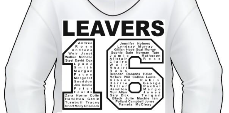 Leavers Hoodies!
