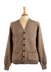 Lewis cardigan in Oatmeal