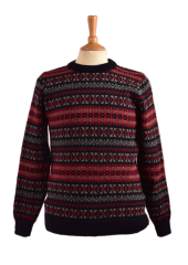 Sumburgh Fairisle Crew Neck Sweater
