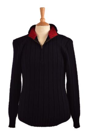 Struan 1/4 Zip Funnel Neck Sweater