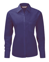 Ladies Long-Sleeve Poplin Shirt
