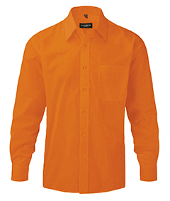 Gents Long-Sleeve Poplin Shirt