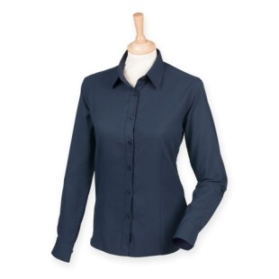 Ladies Long-Sleeve Anti-Bacterial Shirt