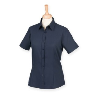 Ladies Short-Sleeve Anti-Bacterial Shirt