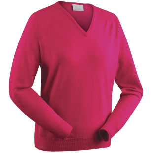 Ladies Merino V-Neck