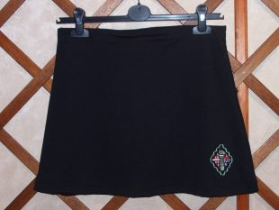 wellington black skort