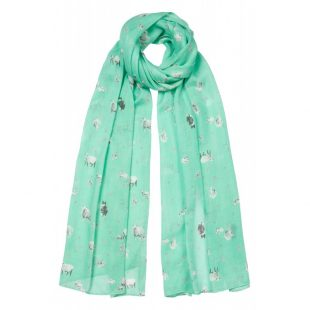 Tulchan Sheep Print Scarf
