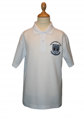 Galston Primary Poloshirt in White