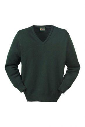 Deluxe Scottish Lambswool Tartan Green