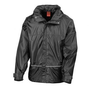 Wellington Black Waterproof Jacket