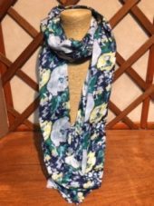 Tulchan Large Floral Scarf