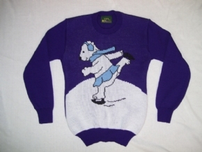Kids Polar Bear Sweater