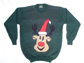 Adult Christmas jumper Rudolph the reindeer