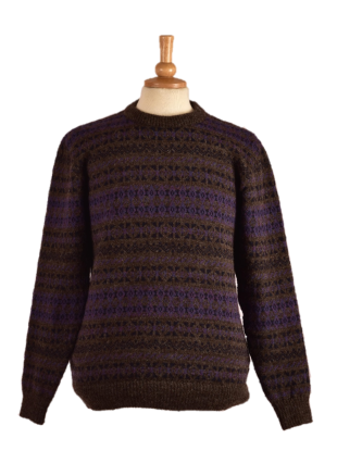 Sumburgh Fairisle Crew Neck Sweater