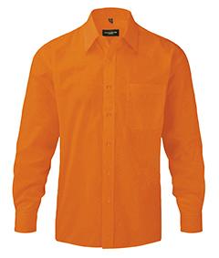 Gents Long-Sleeve Poplin Shirt