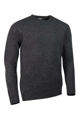 Lambswool Crew neck in charcoal