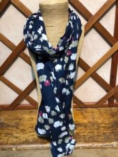 Tulchan Navy Sheep Scarf