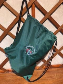 Wellington embroidered gym bag
