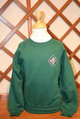 Wellington Bottle Green Sweatshirt