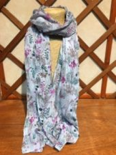 Tulchan Country Seed Scarf in Drizzle Grey