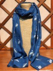 Tulchan Hare Print scarf