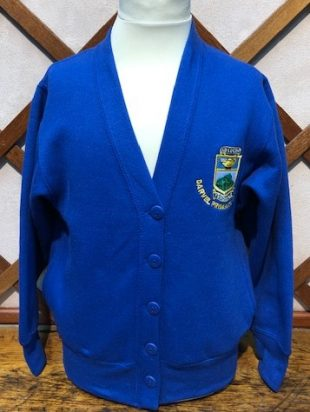 Darvel Primary School Sweatshirt Cardigan