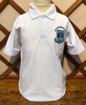 Galston Primary School Poloshirt in White