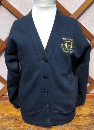 Hurlford Primary School Sweatshirt Cardigan