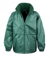 Green Waterproof Jacket RS230 garment shot